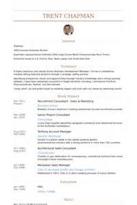 resume australia sle consultant en recrutement exemple de cv base de donn 233 es des cv de visualcv