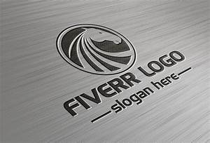 Awesome 3d Logo Design Mockup For Your Business For  5