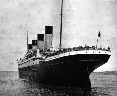 A Real Picture Of The Titanic Sinking by How Titanic Sank Really How