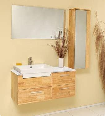 Caro 35 inch Natural Wood Modern Bathroom Vanity with