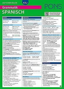 Rechnung Spanisch : pons grammatik auf einen blick spanisch buch portofrei bestellen ~ Themetempest.com Abrechnung