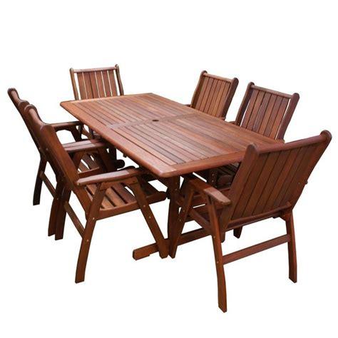 piece outdoor dining sets australias  stop outdoor