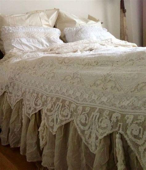 Lace Vintage Bedding Myideasbedroomcom