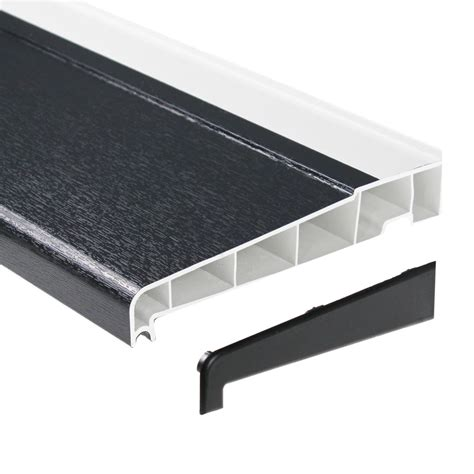 davanzale pvc 180mm upvc external sill for window door patio pvc plastic