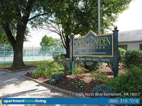 2 Bedroom Apartments In Bethlehem Pa by Spring Garden Townhouses Apartments Bethlehem Pa Apartments