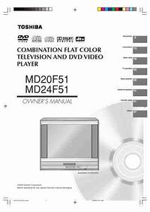 Toshiba Md24f51 Tv   Television Download Manual For Free