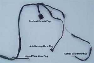 Explorer Overhead Console  U0026 Lighted Visor Mirror