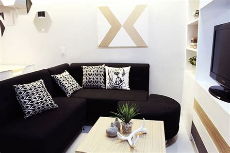 Small Living Room Arrangement Philippines by Small Space Ideas For A 34sqm Condo In Makati Rl