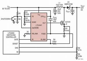 Ltc4441 Typical Application Reference Design