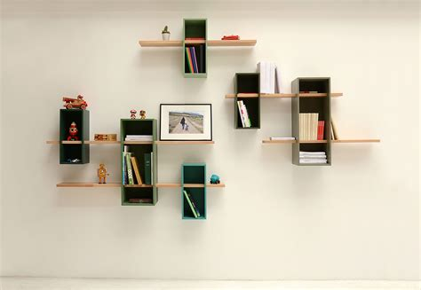etagere max simple  caisson  etagere turquoise