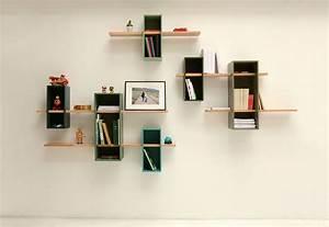 etagere max simple 1 caisson 1 etagere turquoise With salle de bain design avec petites étagères murales décoratives