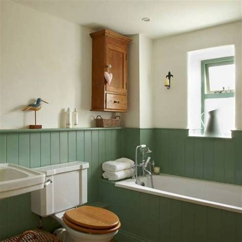 Bathroom Wainscotting by Bathrooms With Wainscoting Green Interiors