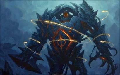 Golem Fantasy Magic Gathering Wallpapers Mtg Sea