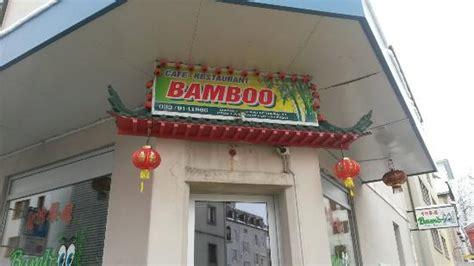 cuisine la chaux de fonds enseigne du restaurant bamboo a la chaux de fonds