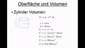 Oberflächeninhalt Quader Berechnen : oberfl che und volumen quader kugel und zylinder youtube ~ Themetempest.com Abrechnung
