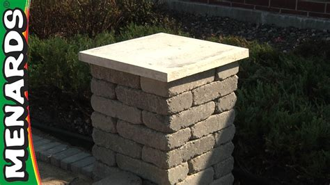 images end table with built in l concrete block columns how to build menards