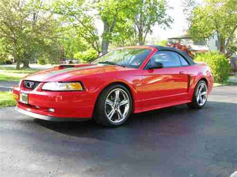 2000 Ford Mustang Conv sell used 2000 ford mustang conv supercharged 4 6l v8 5