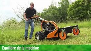 Tondeuse Pour Terrain En Pente : as motor tondeuse d broussailleuse 63 youtube ~ Premium-room.com Idées de Décoration
