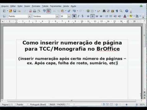 formatando trabalhos abnt em um clique padeac doovi como numerar e não numerar as paginas no tcc monograf