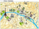 Printable Map Of Paris With Tourist Attractions ...