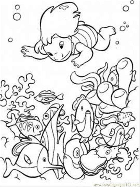Coloring The Sea by The Sea Coloring Page Coloring Page Free Seas And