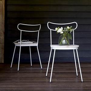 Chaise En Pin : chaise en metal et pin alix ~ Teatrodelosmanantiales.com Idées de Décoration