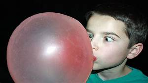 Bubble Gum Blowing Contest! - YouTube  Blowing