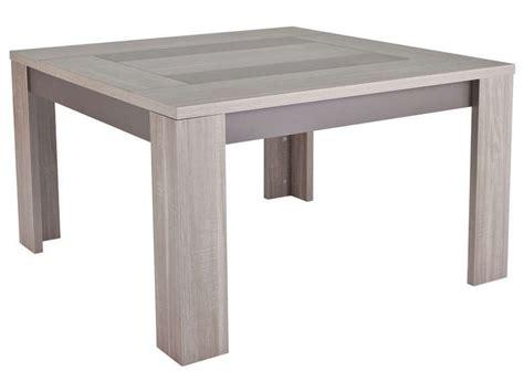 table carr 233 e 130 cm atlanta coloris ch 234 ne fusain vente de table de cuisine conforama