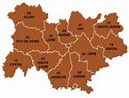 Auvergne-Rhône-Alpes region of France, all the information ...