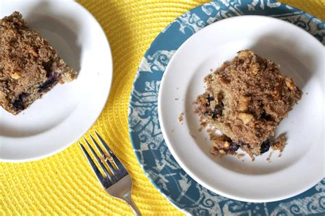 Coffee cake blueberry fruit breakfast. Best Blueberry Coffee Cake | The Law Student's Wife