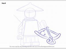 Learn How to Draw Stone Scout from Ninjago Ninjago Step