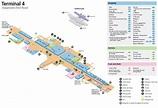 Airport Madrid Map Terminal 4