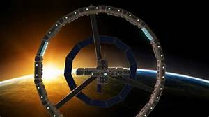 rotating space station - YouTube