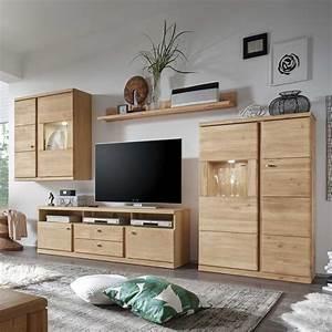 Wohnwand Holz Massiv Excellent Wohnwand Vintage Teilig