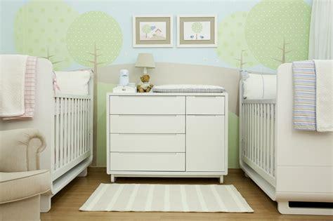 chambre bébé unisex galeria de fotos quarto de bebê para casal de gêmeos by