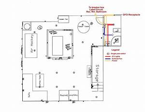 bathroom fan and light switch wiring diagram creative With installing bathroom exhaust fan wiring