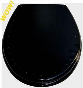 Wc Sitz Schwarz Weiß : toilettendeckel hamberger 529609 wc sitz mit deckel costa diamond schwarz mit soft close pure ~ Bigdaddyawards.com Haus und Dekorationen