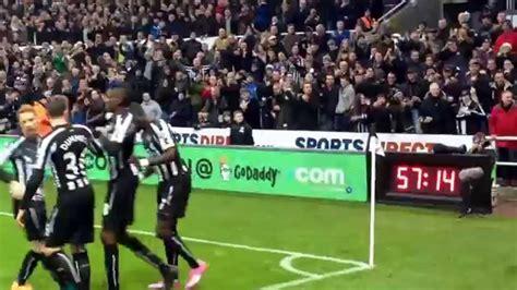 NUFC V CHELSEA (6/12/14) Newcastle 1st goal.... - YouTube