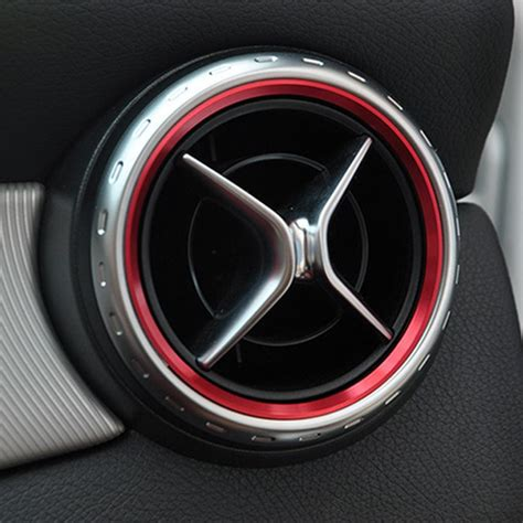 Car Styling, Air Condition Air Vent Outlet Ring Cover Trim