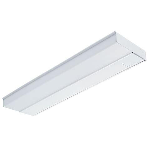 lithonia lighting 2 ft white fluorescent cabinet