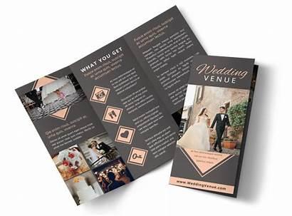 Brochure Venue Template Templates Fold Tri