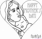 Mothers Coloring Mother Pages Happy Mom Drawing Drawings Gift Printable Quotes Crafts Cards Outline Sheets Poems Clipart Colouring Card Grandma sketch template