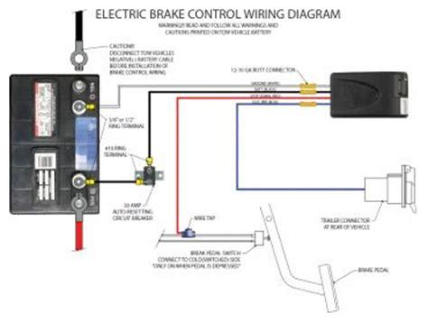 tekonsha voyager electric brake controller wiring diagram