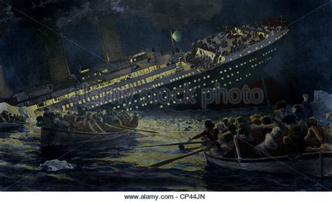 Titanic Boat Scene Pic by Titanic Sinking Stock Photos Titanic Sinking Stock