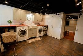 Basement Laundry Room Interior Remodel Basement Laundry Remodel Traditional Laundry Room