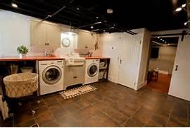 Basement Laundry Room Interior Remodel Basement Laundry Remodel Traditional Laundry Room