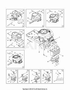 Mtd 13an791g755  2005  Parts Diagram For Engine Accessories