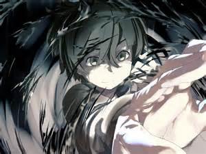 Anime Boy with Black Hair Short