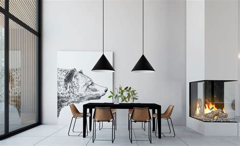 interior designing for kitchen 40 minimalist dining rooms to leave you hungry for style