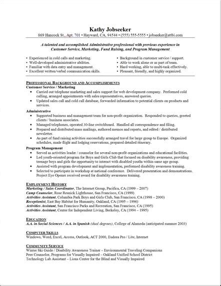 Administrative Resume by Professional Administrative Resume Templates